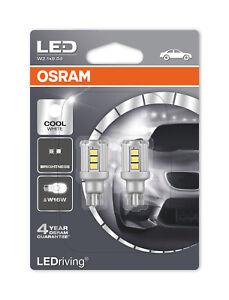 Osram-DEL-921-Blanc-Froid-Ampoules-6000K-W16W-T16-Wedge-12-V-1-8-W-9212CW-02B