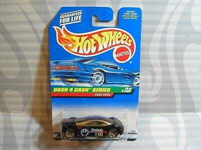 1998 Hot Wheels ~DASH 4 CASH~ Audi Avus 3//4