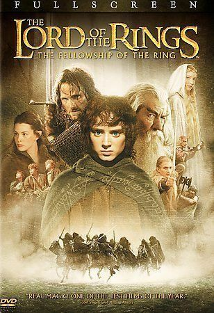 Lord Of The Rings Fellowship Complete Feature Dvd Factory Sealed Hit Collectible - $0.46