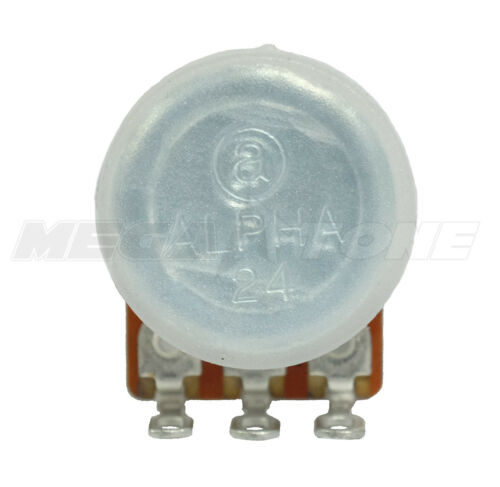 A250K Ohm Audio Potentiometer Includes Dust Seal USA Seller!!! Alpha Brand
