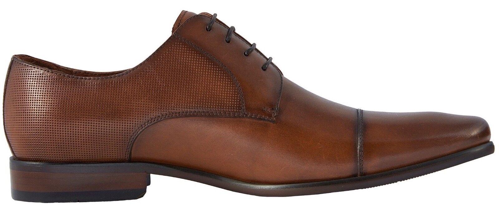 Para Hombre Florsheim Postino Cuero Puntera Cognac Cuero Postino Oxford Zapatos [15149 221] 3e55b2