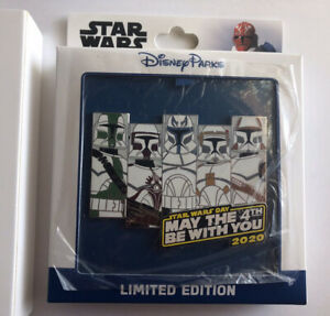Star-Wars-Clone-Troopers-Disney-May-The-4th-Pin-Iimited-Edition-Sold-Out-In-Hand