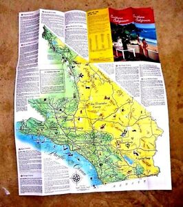 California Map Cartoon.Lovely Cartoon Map Southern California Where Movie Stars Live