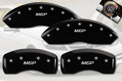 MGP Caliper Brake Covers For Mercedes-Benz 2007-2011 SL550 Red Paint 23196SMGPRD