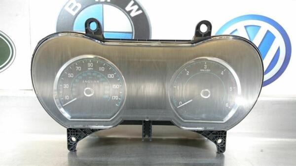 Minnelijk Jaguar Xf 2012 3.0 Tdv6 Instrument Cluster Speedo Speedometer Bw83-10849-jf