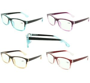 KOOSUFA Lesebrille Damen Metallrahmen Lesehilfen Sehhilfe Vintage D/ünner Rahmen Mode Brillen Frauen Leser 1.0 1.25 1.5 1.75 2.0 2.25 2.5 2.75 3.0 3.5 4.0