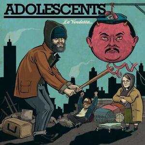 ADOLESCENTS-LA-VENDETTA-FRONTIER-RECORDS-VINYLE-NEUF-NEW-VINYL-LP