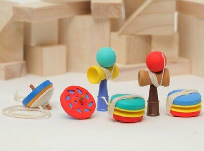 Toy 6 pieces Iwako erasers Color May Vary S-3562
