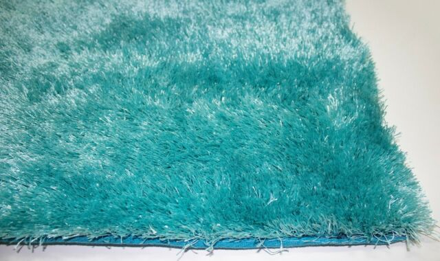 Area Rugs 8x10 Light Turquoise Shag Rug