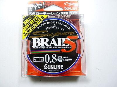 SUNLINE Super Braid 5 10lb(#0.8)150m