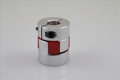 BF 8mm X 10mm CNC Flexible Plum Coupling Shaft Coupler D25L30