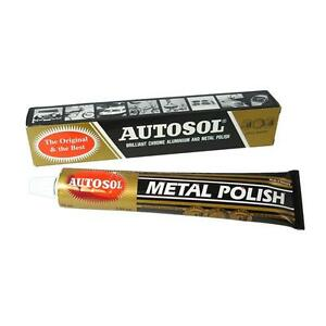 Autosol-Solvol-Chrome-Polish-Aluminium-amp-Metal-Paste-75ml-tube-Fast-Dispatch