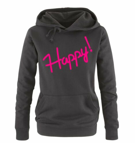 Comedy Shirts-Happy! Femmes HoodieFashion Mode New Style