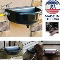 Automatic Pet Waterer Fountain Water Dispenser Dog Horse Drink Outdoor Animal