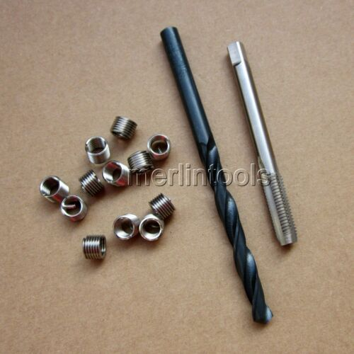 Helicoil Thread Repair M7 x 1 Drill and Tap 12 Inserts