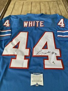 Lorenzo-White-Autographed-Signed-Jersey-Beckett-COA-Houston-Oilers