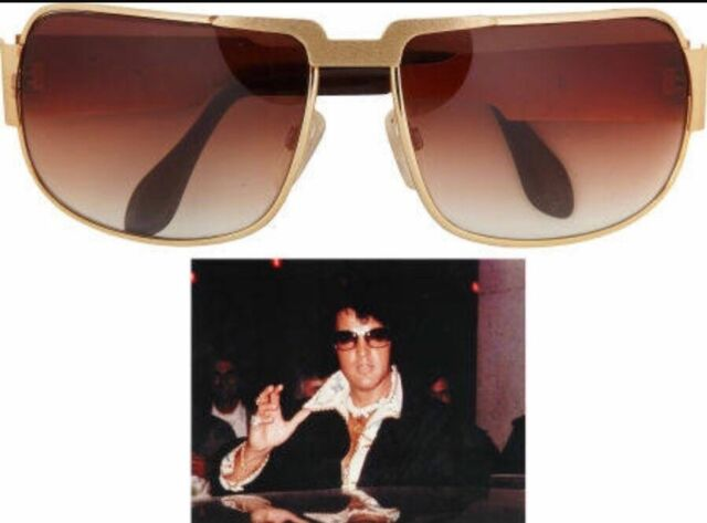 8890003cac1 NEW AUTHENTIC NEOSTYLE NAUTIC ELVIS PRESLEY SUNGLASSES C. GOLD W  BROWN  GRADIENT