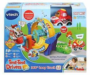 Vtech-Toot-Toot-Drivers-360-Loop-Track-Auto-Giocattolo-Pista-da-corsa-per-ragazzi-e-ragazze
