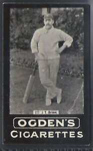EXC+++ BROWN SERIES OF 50 CARDS CARRERAS-FULL SET CRICKET ERS