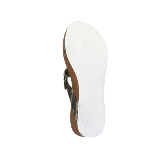 S11o923 muli camouflage Scarpe zoccoli sandali Superga donna BRAZwZ7