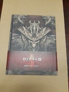 Diablo-III-Book-of-Cain-by-Deckard-Cain-2012-Hardcover-HC-Insight-Blizzard-3