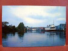 Postcard MD Salisbury The Wicomico River