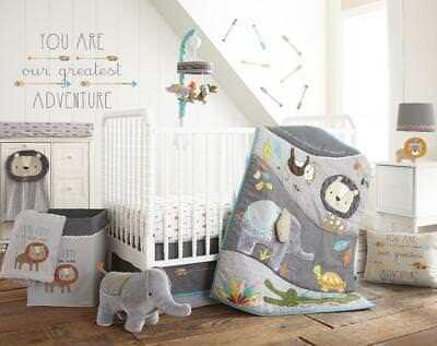 Levtex Baby Zambezi 5 Piece Crib, Levtex Baby Zambezi 5 Piece Bedding Set