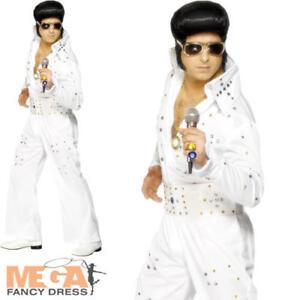 Image Is Loading Elvis Presley Mens Fancy Dress 50s American Eagle