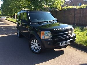 2007-Land-Rover-Discovery-3-TDV6-XS-7-seater-Auto-Diesel-Tow-bar-Drives-A1-black