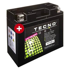 GEL-Batterie-YT12B-4-fuer-Ducati-Monster-796-ABS-Baujahr-2011-2014-von-Tecno