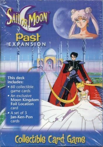 Sailor Moon Game Card Preconstructed Past Expansion Theme Deck