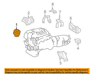 mercedes mercedes benz oem sl600 engine motor mount torque strut rh ebay com Mercedes SL550 2004 Mercedes SL600
