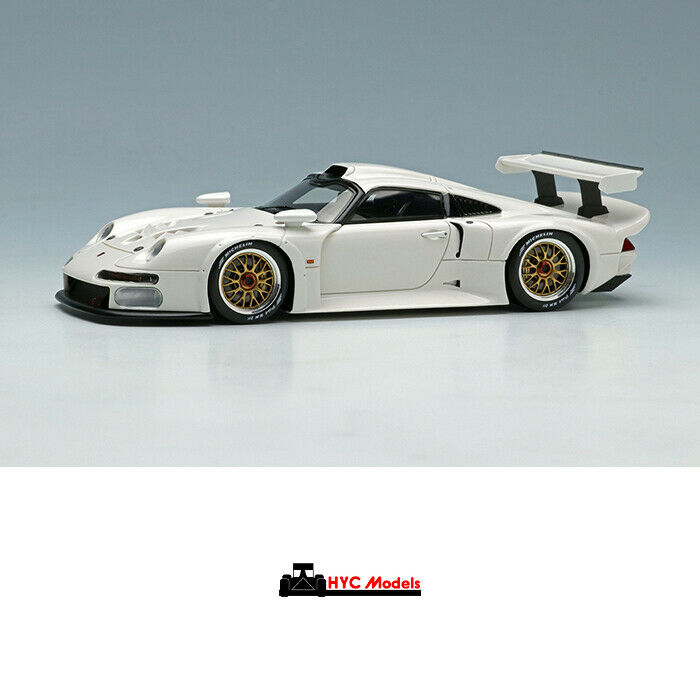 Make Up EIDOLON 1 43 Porsche 911 GT1 1996 EM328C Weiß