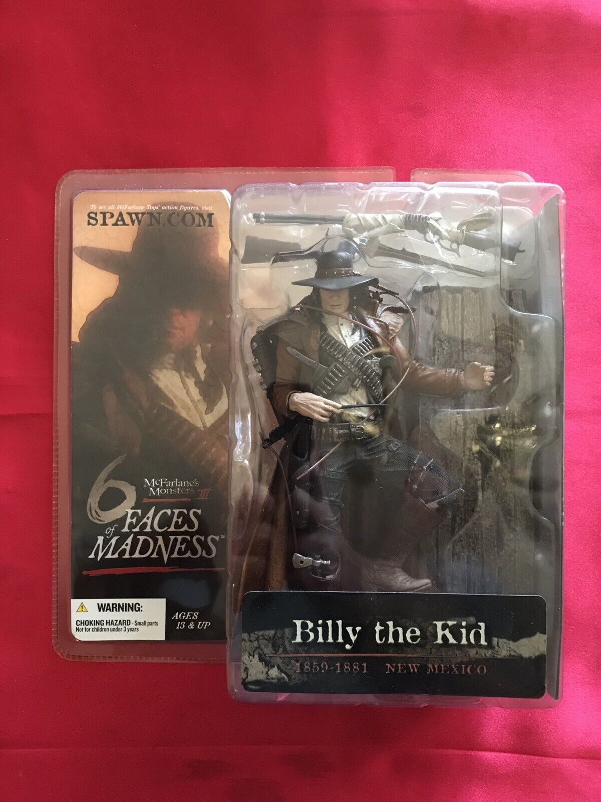 McFarlane Movie Maniacs Billy the Kid Action Figure FACES OF MADNESS NEW