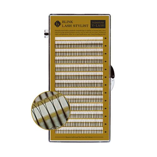 Blink Y Lash Mix Size 8~15 mm False Eyelash Extension J B C D Curl T 0.1~0.25mm