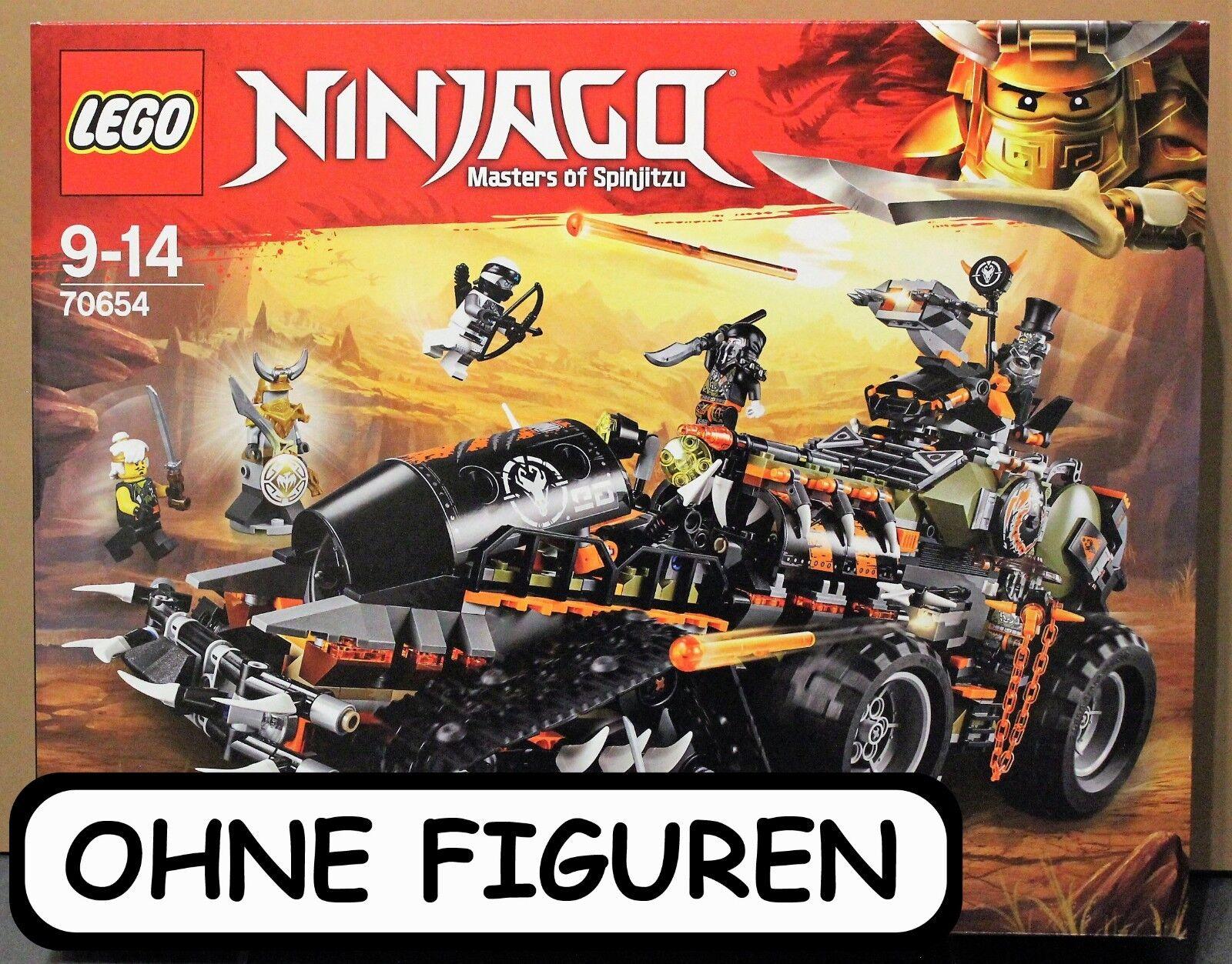 Lego Ninjago Drachen Fänger Set 70654 Ohne Figuren