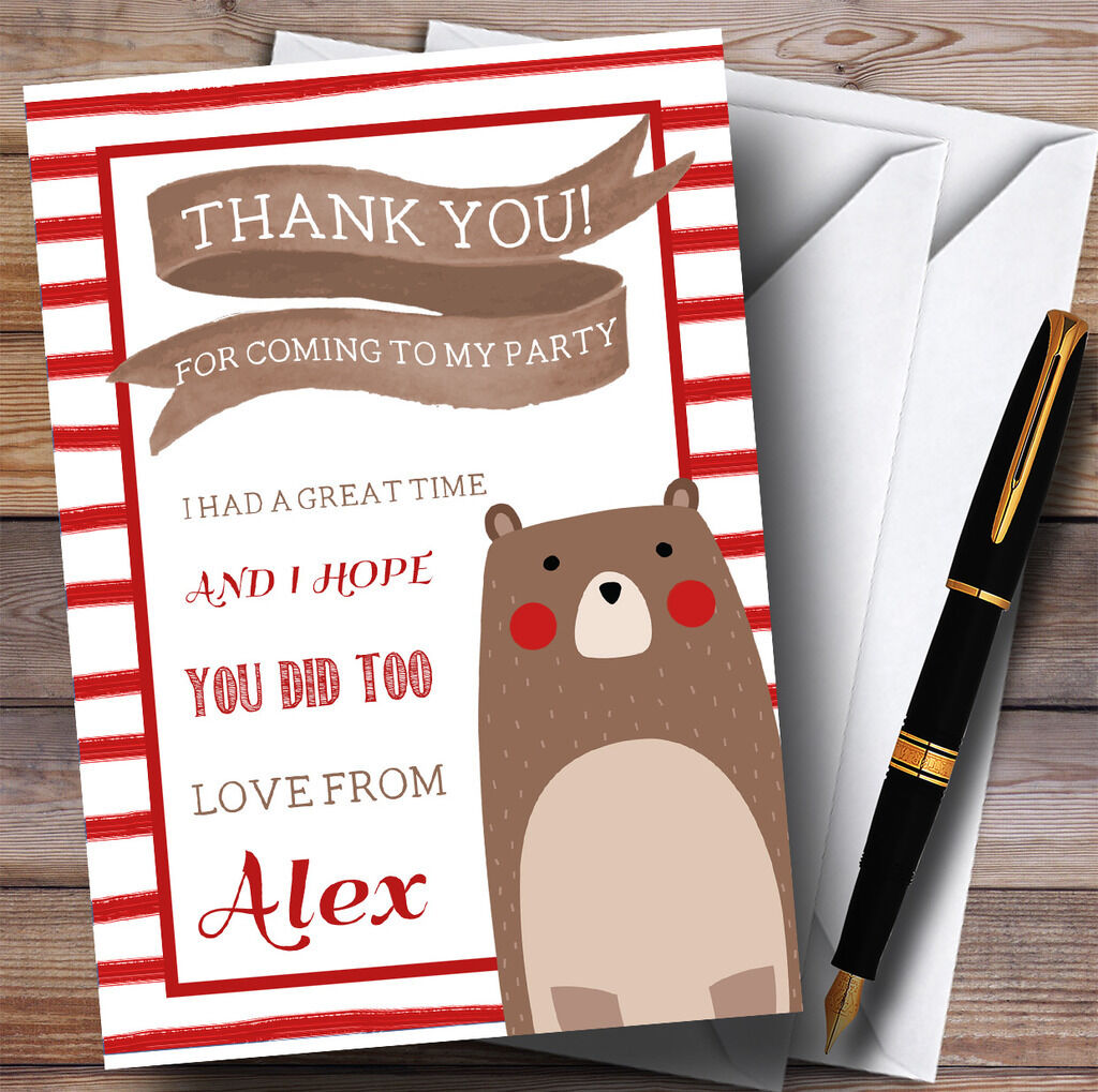 Noël, dernier le dernier Noël, fou s'est approché Bandes rouges ours parti Merci cartes f983a3