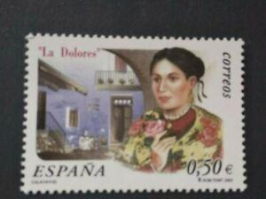España año 2002 LA  DOLORES Nº 3905 MNH