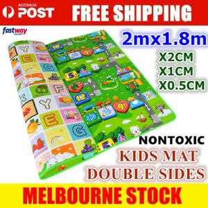 2mx1-8m-XXL-Baby-Kids-Floor-Play-Mat-Rug-Picnic-Cushion-Crawling-Mat-Waterproof