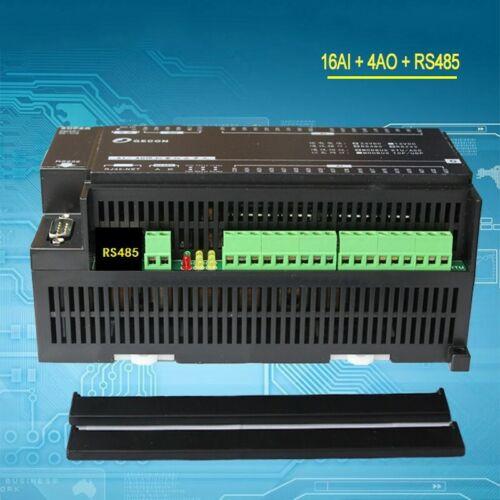16 Analog Input 4 Analog Output Module For Modbus RTU IO Module RTU-308J 16AI