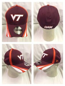 top fashion 41f94 af275 Image is loading Virginia-Tech-Hokies-New-Era-Training-Day-Cap-
