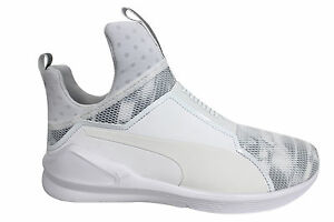 On Puma D127 02 Dance 189885 Mesh Trainers Swan Womens Gym Fitness Slip Fierce Fitness rrOpgIqF