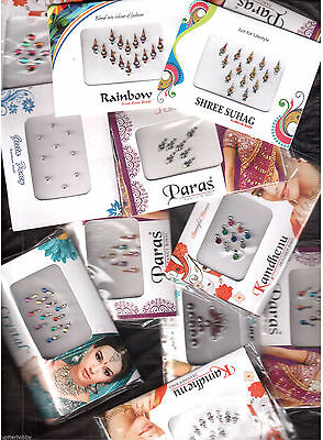 25 - Full Packets - BINDIS / Temporary Tattos - FREE SHIPPING