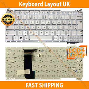 Details about New Samsung NC110 NP-NC110 Series Laptop Netbook keyboard UK  Layout - White