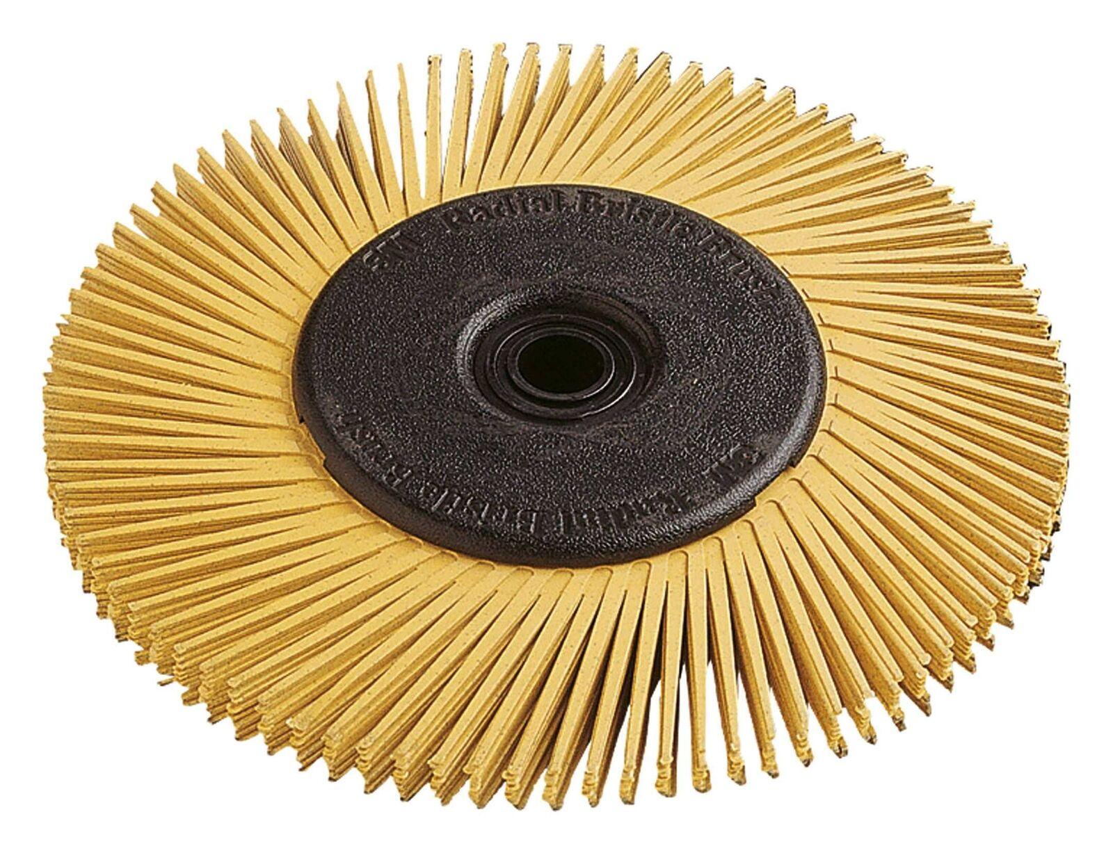 3M Radial Bristle Brush 150x12mm P120weiß TypA - 33212 | Konzentrieren Sie sich auf das Babyleben  | New Product 2019  | Stil  | Komfort