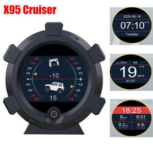 Medidor-de-pendiente-autool-GPS-velocimetro-amp-Medidor-de-nivel-de-altitud-HUD-brujula-km-h-mph