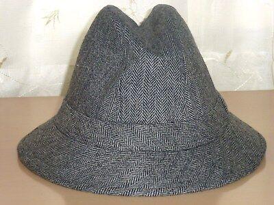 Avere Una Mente Inquisitrice Debenhams Tress & Co Grigio Tweed Cappello Secchio Borsalino Taglia Media-invernale-mostra Il Titolo Originale Per Spedizioni Veloci