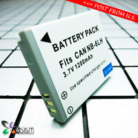 Nb6l Nb6lh Nb-6l 6lh Battery For Canon Powershot Sd4000 Is Sd4000is Digital Elph