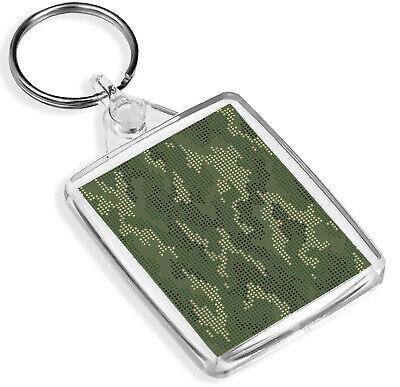 Appena Pixel Mimetica Portachiavi Mimetico Esercito Adolescente Raf Forze Armate Portachiavi Regalo #8443-mostra Il Titolo Originale