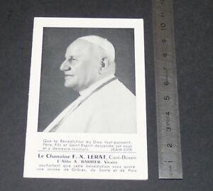 CALENDRIER DE POCHE 1959 CATHOLICISME IMAGE PIEUSE HOLY CARD PAPE JEAN XXXIII M9EsnTEU-09100354-260910686